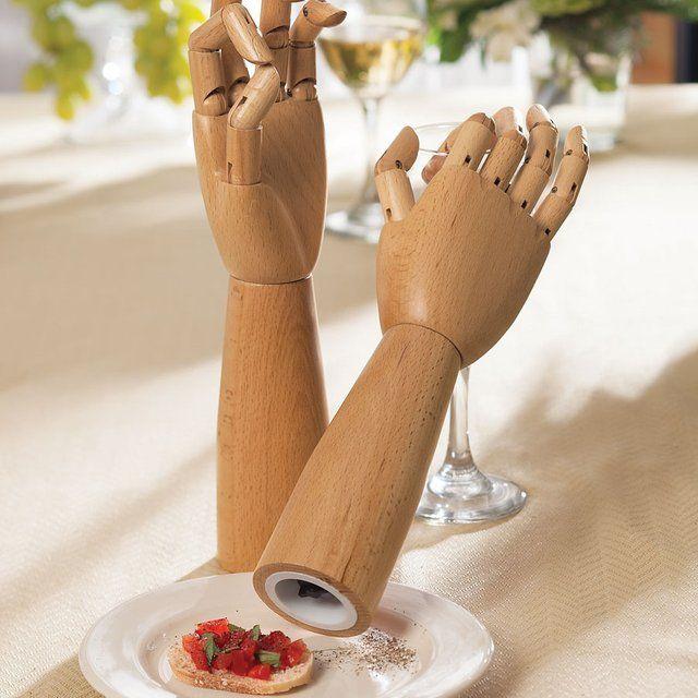 Wooden Hand Grinders